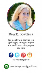 randi business card back